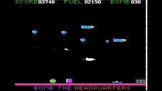 Star Blazer 1982 by Tony Suzuki for the Apple ][ (8-bit retro gaming apple2)