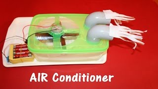 How to make air conditioner at home - Easy