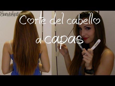 Cabello DIY Corte a capas manteniendo el largo ¡Córtate el pelo en casa