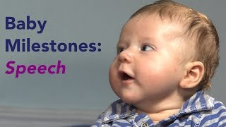Developmental Milestones: Baby Talk from First Sounds to First Words