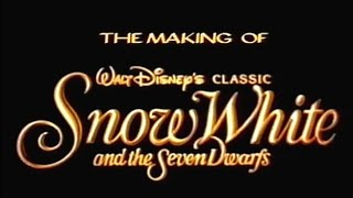 The Making of Snow White - DisneyAvenue.com