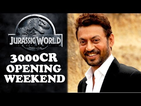 Irrfan Khan's 'Jurassic World' Puts Shahrukh & Salman Khan Movies To Shame | Bollywood News