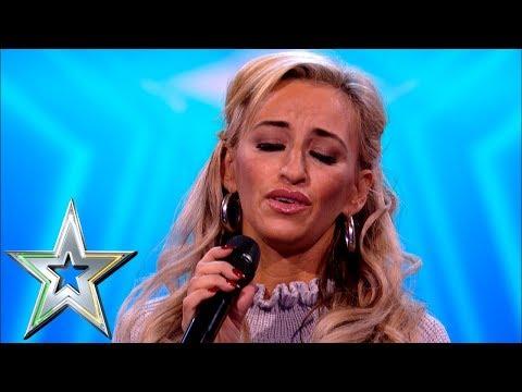 Proud Irish Traveller Sharyn Ward stuns crowd with traditional Irish song Ireland's Got Talent