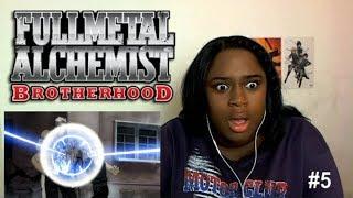 Fullmetal Alchemist: Brotherhood Ep #5 | REACTION