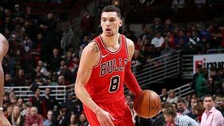 Zach LaVine Bulls Debut 14 Points vs Pistons! 2017-18 Season