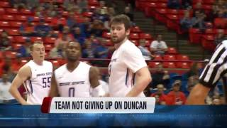 Team not giving up on Forward Nick Duncan