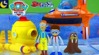 Paw Patrol Bath Time Toys Captain Turbot Diving Bell Zuma & Ryder Submarine Bath Adventure Water Toy