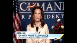 Bachmann Founding Fathers Slavery BS Exposed