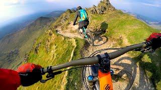 What are we getting into?   Mountain Biking Snowdon