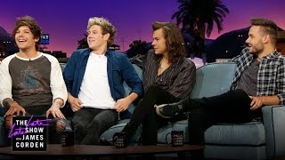 One Direction & James Talk