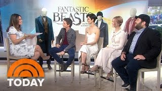 'Fantastic Beasts' Cast On Harry Potter World, Getting 'Wand Elbow' | TODAY