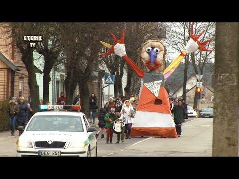 ETERIS TV 2017.02.28 Vasario 28 d. prieniečiai sudegino Morę ir išvijo žiemą