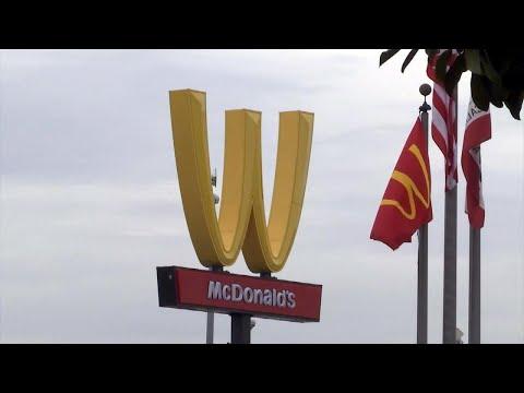 McDonald's Flips Golden Arches Upside Down for International Women's Day