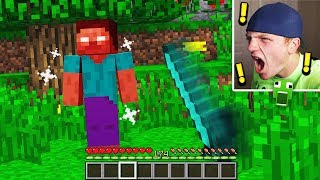 I ENDED HEROBRINE IN MINECRAFT... (DO NOT ATTEMPT)