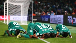 اهداف لقاء ( النادي القنيطري 0-2 الرجاء الرياضي ) الدورى المغربى