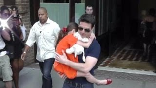 Tom Cruise Sees Suri for First Time Since Katie Holmes Divorce, Settlement