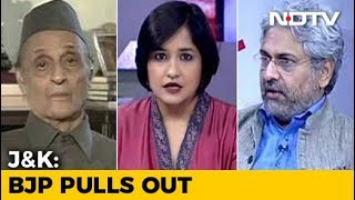 BJP Dumps PDP: What Next For Jammu And Kashmir?