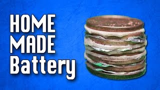 How to make a Homemade Battery