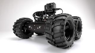 Pan:Tilt Minibot Obstacle In Pipeline