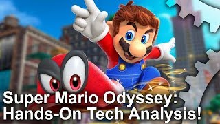 Super Mario Odyssey Hands-On! E3 2017 Demo Tech Analysis