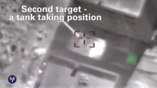 IDF video showing Israeli airstrikes in Syria, June 26, 2017