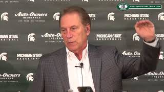 Tom Izzo discusses 2018 MSU signing class and social injustices