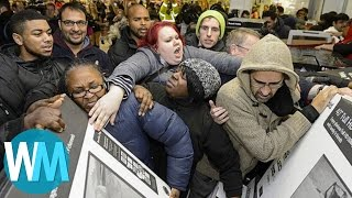 Top 10 Most Insane Black Friday Catastrophes