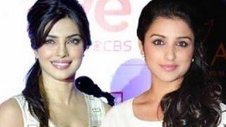 Is Priyanka Chopra afraid of competing with Parineeti Chopra