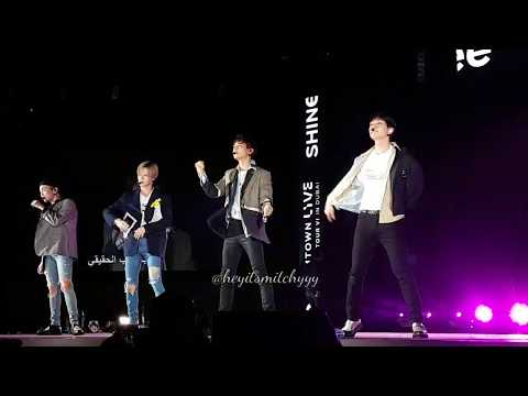 [FANCAM]  SMTOWN in DUBAI 06042018 - SHINEE [ REPLAY & SHERLOCK + MENT]