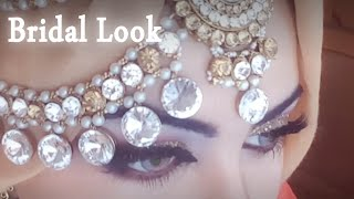 ❤️ BRIDAL MAKEUP LOOK & OUTFIT ♥ ASIAN ARABIC INSPIRED with headpiece + Wedding Vlog
