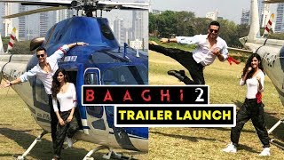 Baaghi 2 Trailer Launch | Tiger Shroff, Disha Patani GRAND ENTRY