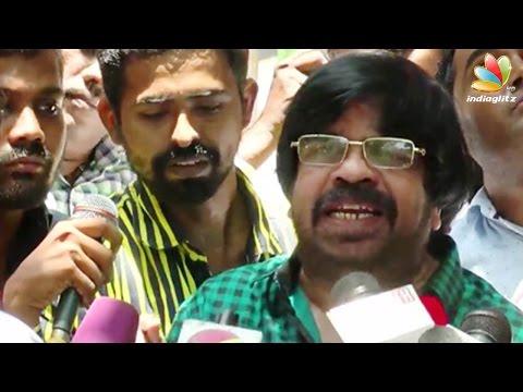 T Rajendar : Karnataka sending sewage down Cauvery to Tamil Nadu | Latest Speech | Water Dispute