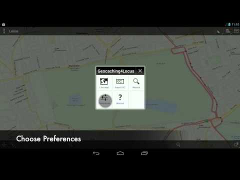 How to download geocaches to offline with Locus Map
