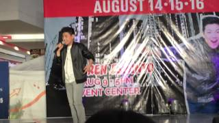 See You Again by Darren Espanto at SM Rosario, Cavite