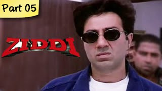 Ziddi (HD) - Part 05 of 15 - Superhit Blockbuster Action Movie - Sunny Deol, Raveena Tandon