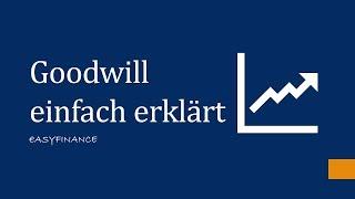 Goodwill einfach erklärt