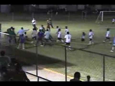 Bronca en Fútbol Juvenil