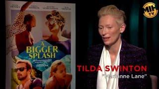 Tilda Swinton's Full Uncut Interview for 'A Bigger Splash'