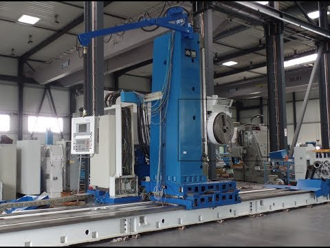 Xxx Mp4 WMW UNION BFP 130 7 Horizontal CNC Floor Type Boring And Milling Machine 3gp Sex