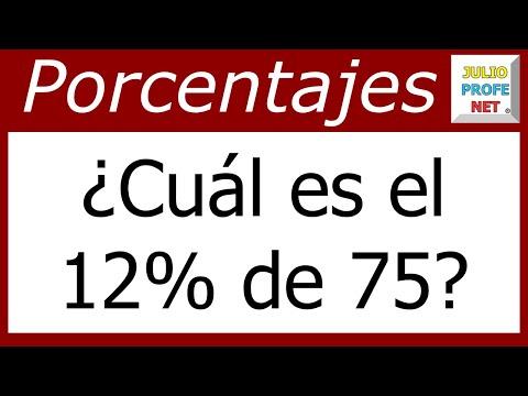 Porcentajes Ejercicio 1
