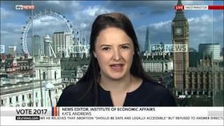 Kate Andrews vs Owen Jones on Sky News - 21/05/2017