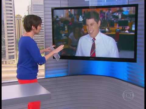 Evaristo Costa quase morre ao vivo 20 01 2014