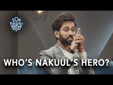 Madhuri Dixit is Nakuul Mehta's Hero | Son Of Abish