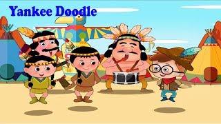 Yankee Doodle Nursery Rhyme Kids Songs | Great Songs for Children