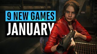 9 New Games Arriving in January 2019