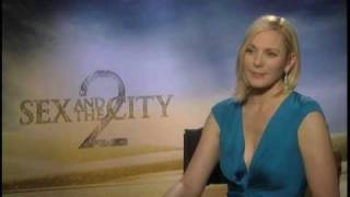 Kim Cattrall (Sex and the City 2) Interview