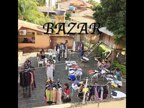 Organizando Bazar com as Amigas