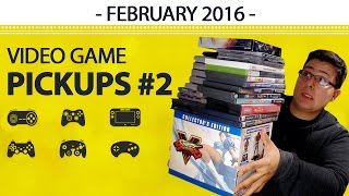 Video Game Pickups - February 2016