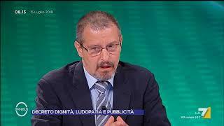 Omnibus - Decreto Dignità, ludopatia e pubblicità (Puntata 15/07/2018)