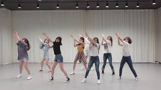 [mirrored & 50% slowed] fromis_9 - DKDK Choreography ver.